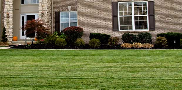 Recently mowed residential property in Jackson County, MI.